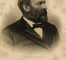 James Abram Garfield (November 19, 1831 – September 19, 1881) Sticker