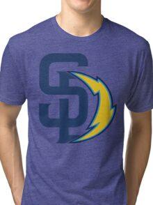san diego chargers Tri-blend T-Shirt