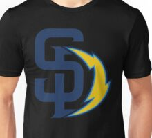 san diego chargers Unisex T-Shirt