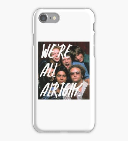 That 70's Show: We're All Alright #2 iPhone Case/Skin