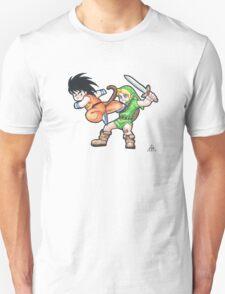 Kid Goku vs. Kid Link T-Shirt