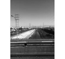 The L.A. River Photographic Print