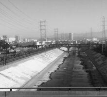 The L.A. River Sticker