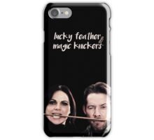Lucky Feather & Magic Knickers iPhone Case/Skin
