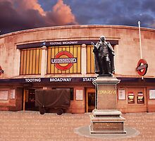 Tooting Broadway Station, SW17, London by Ludwig Wagner