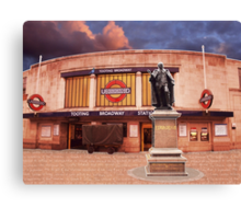 Tooting Broadway Station, SW17, London Canvas Print