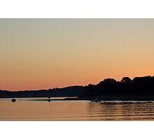 Harbor Sunrise Photographic Print