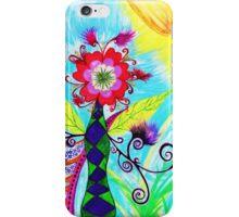 """Chex Floral"" by Jessie R Ojeda iPhone Case/Skin"