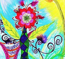 """""""Chex Floral"""" by Jessie R Ojeda by Jessie Ojeda"""