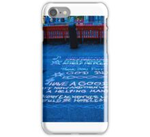 The Powerless Chant iPhone Case/Skin