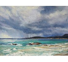 Storm over Arakoon, NSW Photographic Print