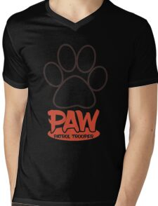 PAW Patrol Trooper Mens V-Neck T-Shirt