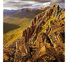 Afternoon light on Mount Hyperion Photographic Print