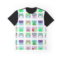 Cute Owl Pattern... digital cuties Graphic T-Shirt
