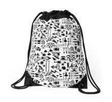 Weird Science! Drawstring Bag