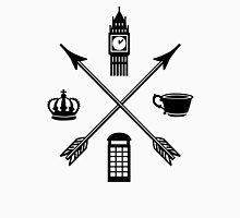 The London Four - Black Unisex T-Shirt