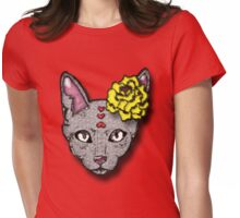 Pieces of Kitty Womens Fitted T-Shirt