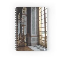Versailles Hall of Mirrors detail Spiral Notebook