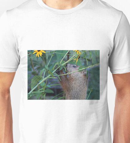 Please don't eat the flowers Unisex T-Shirt