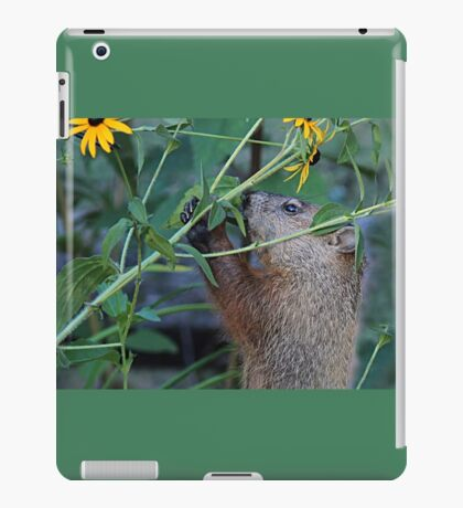 Please don't eat the flowers iPad Case/Skin
