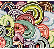 Color Splashes Photographic Print