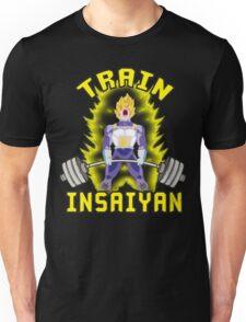 TRAIN INSAIYAN (Vegeta Deadlift) Unisex T-Shirt