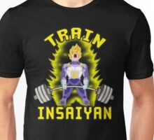 TRAIN INSAIYAN (Vegeta Deadlift) Unisex T-Shirt