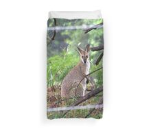 The Other Side Of The Fence Duvet Cover