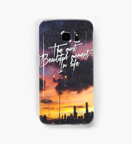 The Most Beautiful Moment In Life Sunset Samsung Galaxy Case/Skin