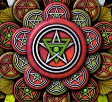 Elemental Pentacle for Earth Sticker