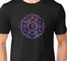 Om Mani Padme Hum - Galaxy Unisex T-Shirt
