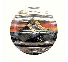 Beacon Mountain Art Print