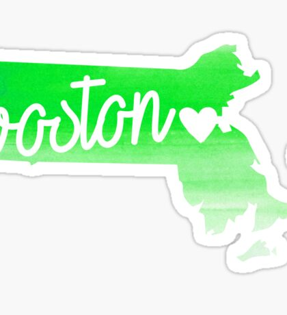 Boston Sticker