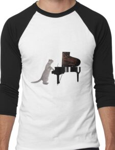 Piano Cat - Meowsicians Men's Baseball ¾ T-Shirt