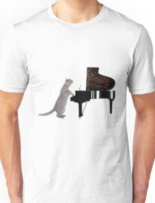 Piano Cat - Meowsicians Unisex T-Shirt