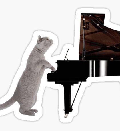 Piano Cat - Meowsicians Sticker