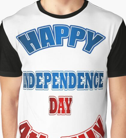 July 4. 1776. Independence  Graphic T-Shirt