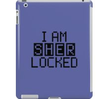 I AM SHERLOCKED - PIXEL iPad Case/Skin