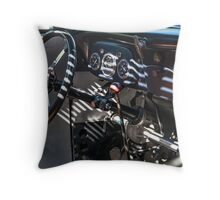 Old School Interior Throw Pillow