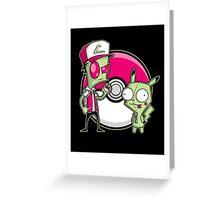 Po-GIR-mon Greeting Card