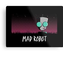 Mad Robot Metal Print