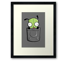 Pocket Spare Parts Framed Print