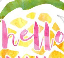 Hello Summer Pineapple  Sticker