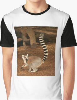 lemur Graphic T-Shirt