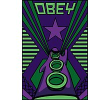 OBEY Purple Tentacle Photographic Print