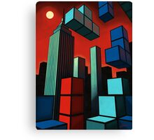 Tetroid Apocalypse Canvas Print