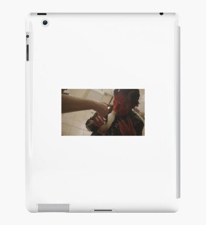Blood on my leather iPad Case/Skin