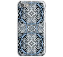 Bright abstract seamless lace pattern romantic print background iPhone Case/Skin