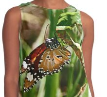 Beneath a Beaut Butterfly Contrast Tank