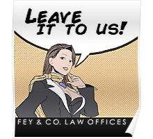 Fey & Co. Law Offices. Poster